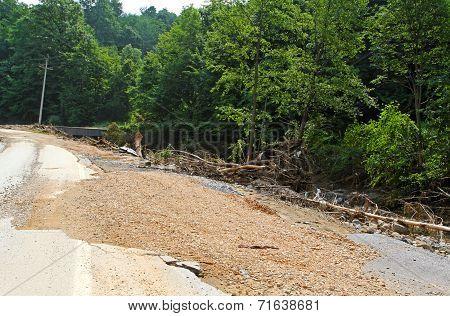 Flooding Debris