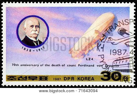 Post Stamp From North Korea