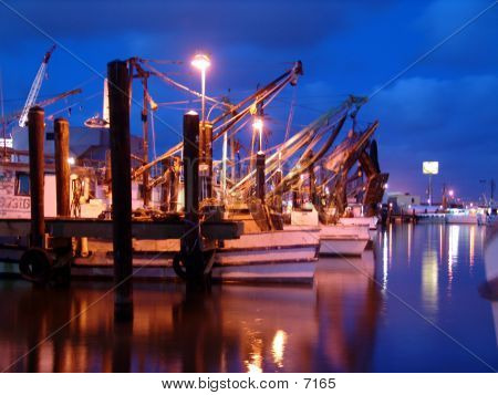 Shrimp Boats poster