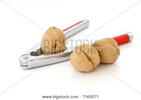 Nutcracker With Three Walnuts