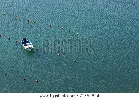 Fisherman in Vernazza, Cinque Terre