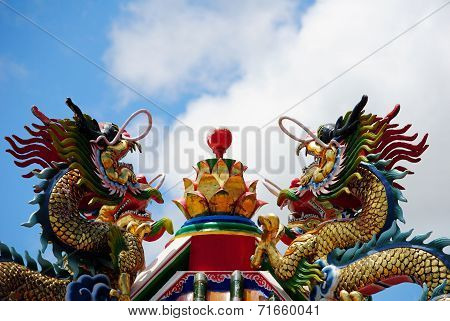 Dragon In Shrine