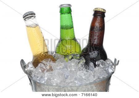 Beer Bucket With Three Beers