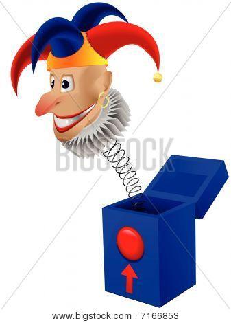 Spielzeug der clown