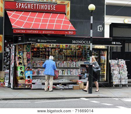 Newspaper Kiosk - London