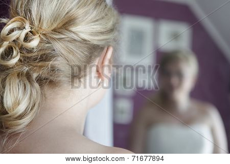 Weddding Bridal Hairstyle