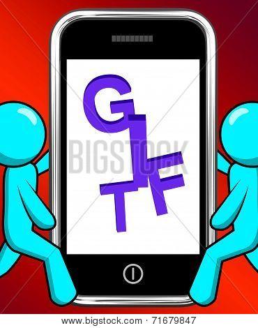 Bonus On Phone Displays Extra Gift Or Gratuity Online