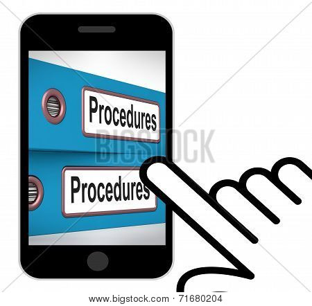 Procedures Folders Displays Correct Process And Best Practice