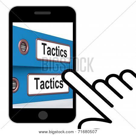 Tactics Folders Displays Organisation And Strategic Methods