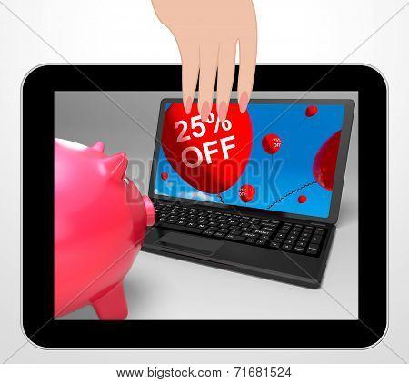 Twenty-five Percent Off Laptop Displays Prices Reduced 25