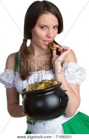 Pot of Gold Woman