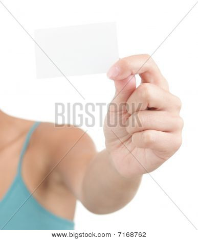 Business Card - Casual Woman