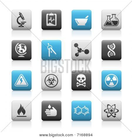 Science // Matte Icons Series