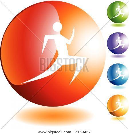 Läufer-Symbol