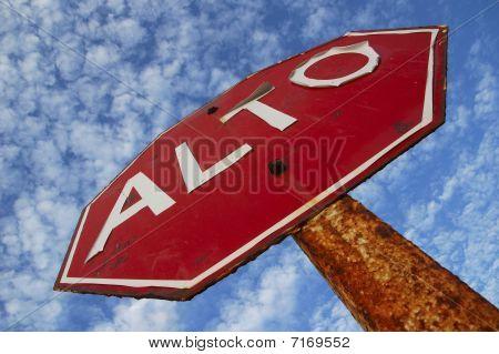 Stop, Alto