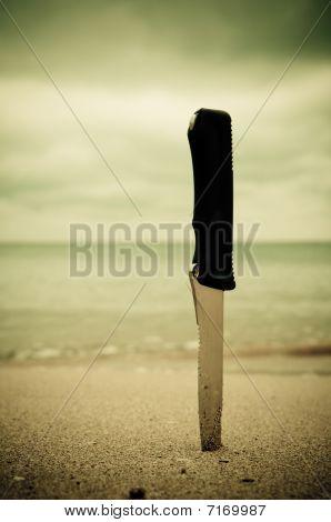 Knife In Sand
