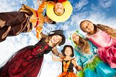picture of pirate girl  - Group of kids - JPG