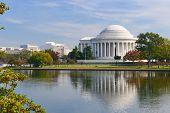 picture of thomas jefferson memorial  - Washington DC  - JPG