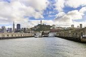pic of alcatraz  - Pier 33 on The Embarcadero at Fisherman - JPG