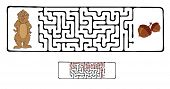 image of marmot  - Vector Maze - JPG