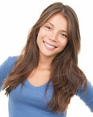 Smiling Woman - Multiracial