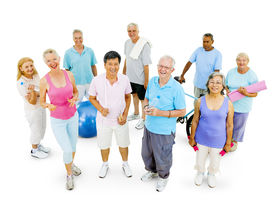 image of senior class  - Senior Adult Staying Fit - JPG
