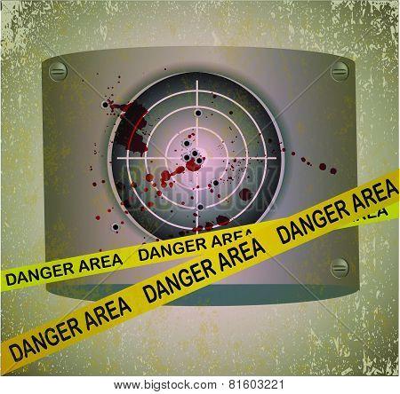 Bloody target