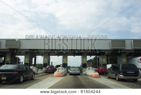 Delaware Memorial Bridge Tollbooth