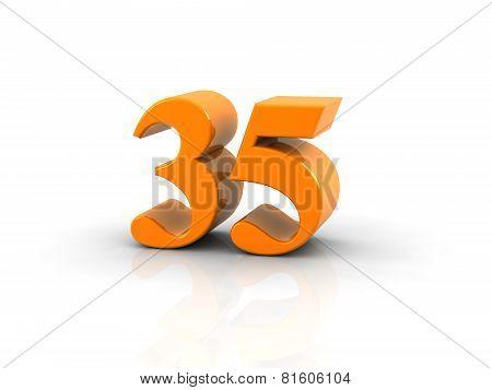 Number 35