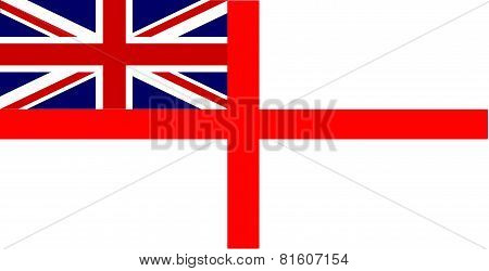 White Ensign Union Jack