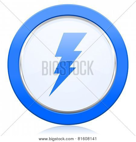 bolt icon flash sign