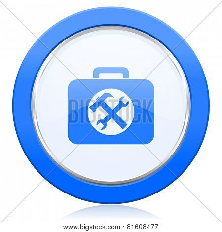 toolkit icon service sign