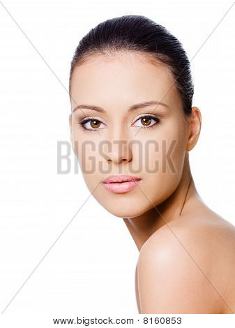 Beautiful Woman's Face