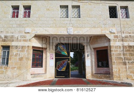 Entrance at Monastery of the Silent Monks at Latrun