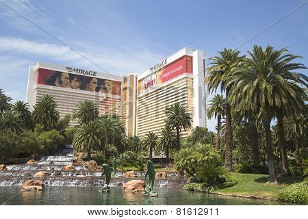 The Mirage Casino on the Las Vegas Strip in Las Vegas