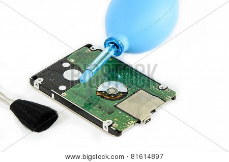 Cleaning Hard Disk