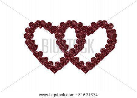 Heart Shape  Arranged In A Heart Shape