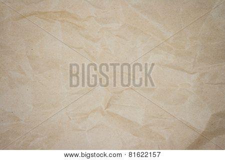 Crease Brown Paper