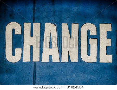 Conceptual Change Sign