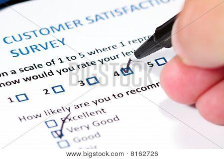 Pesquisa do cliente
