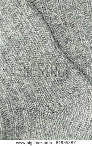 Knitted Socks, Detail, vertical