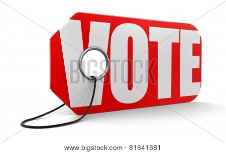 Label vote (clipping path included)