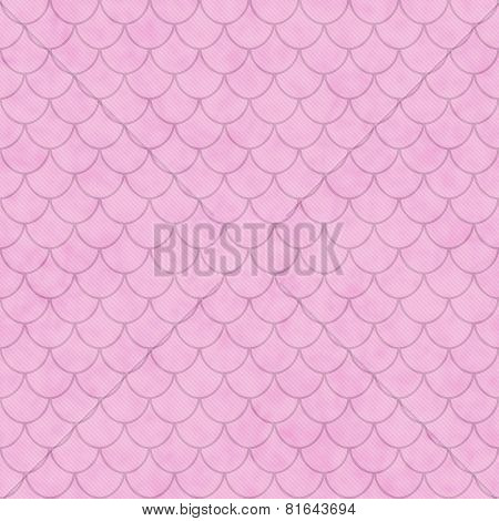 Pink Shell Tiles Pattern Repeat Background