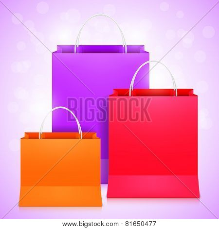 Color Shopping Bags