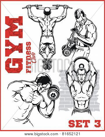 GYM  bodybuilding - Fitness club