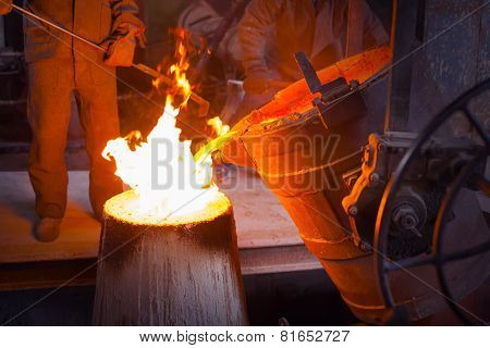 The Molten Metal In The Smithy