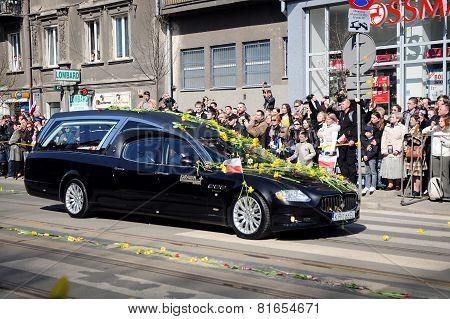 Lech Kaczynski Funeral