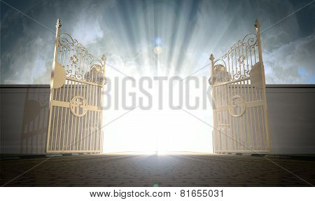 Heavens Gates Opening