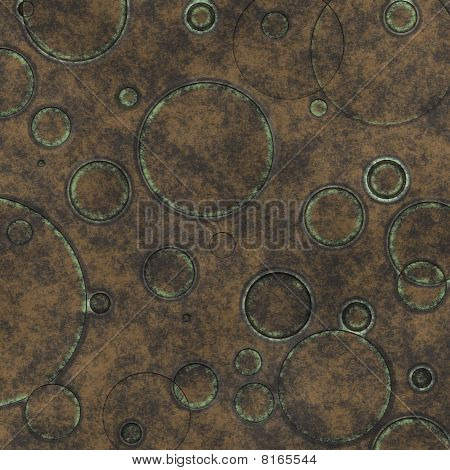 Old Grunge Canvas With Rings