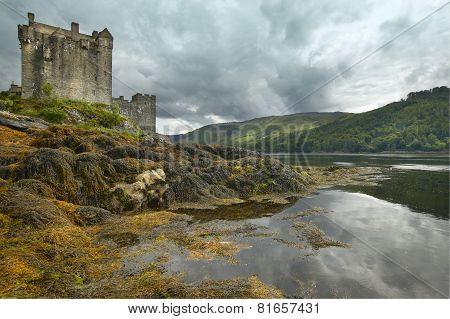 Eilean Donan Castle And Loch Duich In Scotland